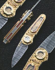 Van Barnett Time Machine Knife $9,500
