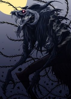 The Ancient Magus Bride Monster Concept Art, Fantasy Monster, Monster Art, Dark Creatures, Mythical Creatures Art, Fantasy Creatures, Entei Pokemon, Mago Anime, The Ancient Magus Bride