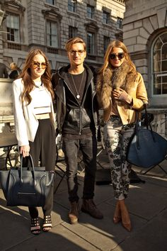 Made in Chelsea stars Rosie Fortescue (wearing MG Effia Crop Top) Oliver Proudlock  Millie Mackintosh.
