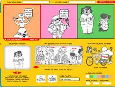6 buenas Herramientas para aprender a escribir utilizando comic-Tecnología Educativa y Aprendizaje Móvil ~