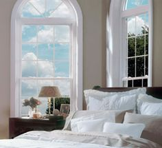 Imperial-double-hung windows -  the next generation vinyl replacement windows. The perfect combo of beauty, comfort, durability, and energy efficiency. http://www.dilloncompany.com/