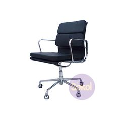 Replica Eames Padded Office Chair Low - Standard