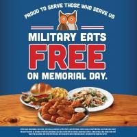 ATLANTA, GA – May 23, 2016 – This Memorial Day, Hooters is expressing heartfelt thanks to current and former U.S. military members by treating them to a free meal from the Hooters Memorial Day Menu.