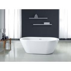 http://t.homedepot.com/p/Schon-Colton-5-25-ft-Center-Drain-Freestanding-Bathtub-in-Glossy-White-SC70010/204508886/  I want this tub!!!