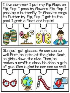 2 Letter Blends Fluency and Sequencing Puzzles that make reading fun! Students read the story and put the events of the story in order to complete each puzzle! Great fluency, reading comprehension, and sequencing practice!