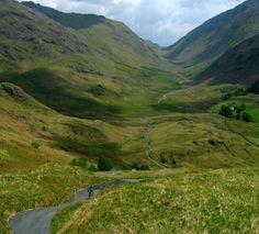 *Hardknott Pass, Lake District NP, Cumbria