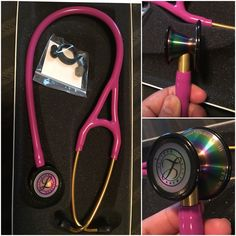 My littmann cardiology III, lavender with rainbow finish..!