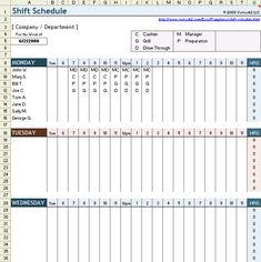 weekend scheduled template free employee shift schedule template for excel