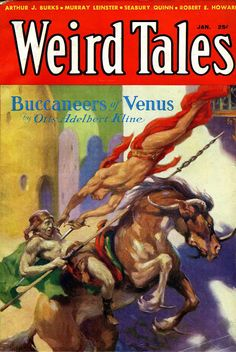 Pulp Sci-Fi & Fantasy Cover Art: J Allen St John