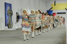 Tendenze Primavera-Estate 2014 da Parigi - L'estate colorata di Chanel