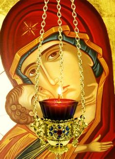 Little Office of the Blessed Virgin Mary: Letter-Stories In Honour of Our Lady of Perpetual Succour Part I Love You Mother, Mother Mary, Religious Images, Religious Art, Religious Paintings, The Lord, Christian Love, The Embrace, Byzantine Art