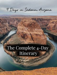 Going to Arizona only for a few days? Here is your complete itinerary for Sedona, Arizona including Horseshoe Bend and the Grand Canyon. Arizona Road Trip, Arizona Travel, Sedona Arizona, New Orleans, New York, Solo Travel, Travel Usa, Arizona Winter, Trip To Grand Canyon