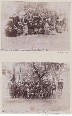 Promenade du 1er juin 1890 (MFILM G-119177) ; Promenade du 11 mai 1890 (MFILM G-119178);