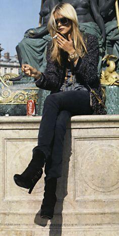 Carmen Kass, Toute Allure, Paris Vogue 2006