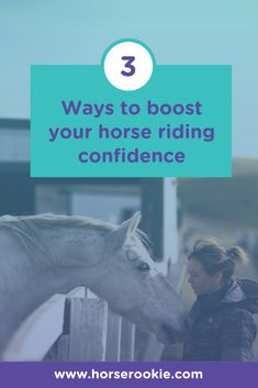 Even those who have ridden for years often go through periods when their confidence in the saddle takes a downturn. Check out our 3 tips to restore joy and calm to your ride. Horse Riding Tips, Positive Outlook, How To Gain Confidence, Horseback Riding, Lessons Learned, Restore, Equestrian, Calm, Joy