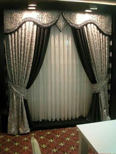 Curtain Styles for Bedroom Beautiful Modern Curtain Designs for Bedrooms Best Curtains Ideas Luxury Curtains, Elegant Curtains, Beautiful Curtains, Cool Curtains, Curtains Living, Grey Curtains, Modern Curtains, Curtains With Blinds, Valances
