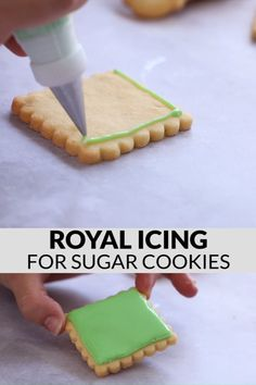 Beautifully decorated cut-out cookies for every celebration and holiday are totally attainable at home with this easy royal icing recipe for sugar cookies and a few tips & tricks to give you the confidence you need to try this technique yourself! Easy Royal Icing Recipe, Sugar Cookie Royal Icing, Chewy Sugar Cookies, Sugar Cookies Recipe, Hardening Sugar Cookie Icing, Sugar Cookies To Decorate, Decorated Sugar Cookie Recipe, Glaze Icing For Sugar Cookies, Best Royal Icing Recipe For Cookies