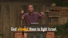 All of the enemies of Israel were not sent by God to fight Israel; God allowed them to fight Israel. Jesus Lives, Jesus Christ, In The Beginning God, Genesis 1, Jesus Quotes, The Covenant, Enemies, 21st Century, Speakers