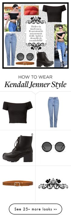 """Untitled #90"" by babycakes-560 on Polyvore featuring Topshop, rag & bone, Charlotte Russe, The Row and NYX"