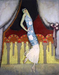 Carmen Vincente Dancing Artist: Kees Van Dongen Year: 1921 Type: Oil on canvas