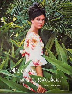 The Glam Pad: From the Desk of Lilly Pulitzer: A Recap of Lilly's Estate Auction Lilly Pulitzer Prints, Lily Pulitzer, Vintage Style Dresses, Vintage Outfits, Cute Summer Outfits, Preppy Style, Palm Beach, Style Icons, Beautiful