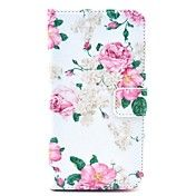 Rose Flower Pattern PU Leather Full Body Case... – EUR € 6.43