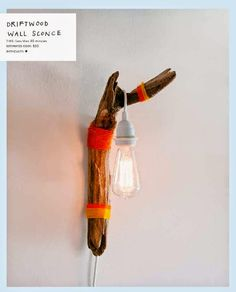 Driftwood Wall Sconce DIY + The New Bohemians | Poppytalk