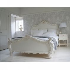 Go for grandeur and grown up feminity - our Provencal Sassy White French Bed is a wonderful mix of timeless French design and sassy oh-so-now styling.
