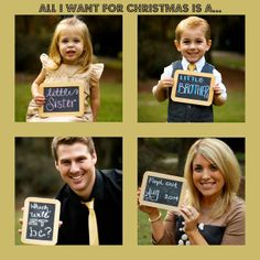 Pregnancy Announcement! Third Baby Announcement. Christmas Pregnancy Announcement!