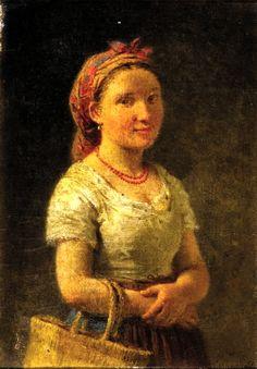 Ritratto giovane donna Raffaele Casnedi