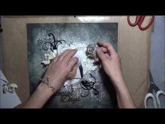 ''Special Days'' - Mixed Media Layout Tutorial by Mary Catt - YouTube