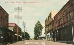We moved to Douglas, Ga. when I was 2.  I started making memories here.