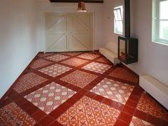 @designtegels | #cementtiles Hall Pnk 04 - Pink 05 - Egal Rosso S840 #tiles #tegels http://tegels.nl/6778/tegels/utrecht/designtegels.html