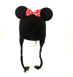 Minnie Mouse Earflap Hat
