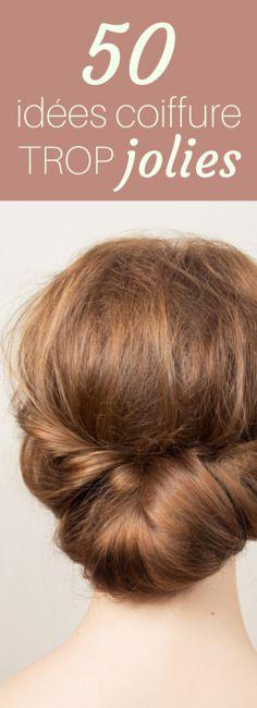 50 idées coiffures pour cheveux courts et cheveux longs pour faire le plein d'inspiration !