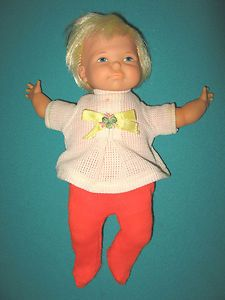 I had a doll just like this VINTAGE NEWBORN THUMBELINA DOLL