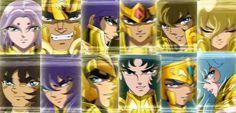 Despedida Caballeros Dorados (Muro de los lamentos) Saga Hades (Saint Seiya)