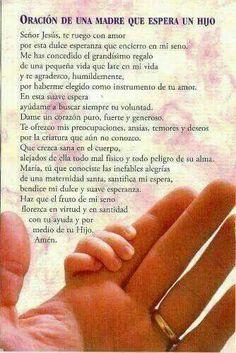 Oración del embarazo
