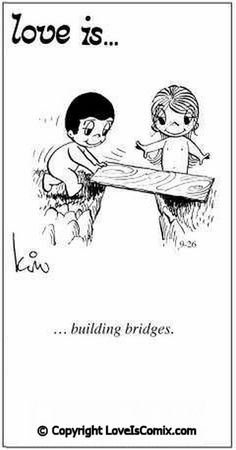 Love is..building bridges for her. ♡ #Love #SqdnLdr