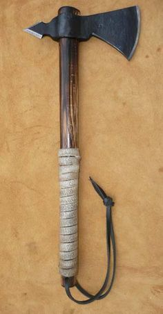 Major Roger Rangers Tomahawk by Fort Turner Hand Forged Throwing Tomahawks Poled Tomahawk Knives
