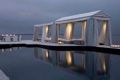 garden lighting for the gazebo - Modern Outdoor Terrace Concept Design Ideas by Jardin de Ville