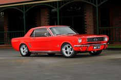 1966 Ford Mustang Coupe - Signalflare Red by Joel Strickland on 500px