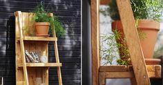 DIY: Hyllykkö terassille tai parvekkeelle