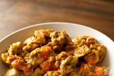 Eggplant Mushroom Curry (178 calories/serving) *4 Servings* *Click on photo for link and recipe