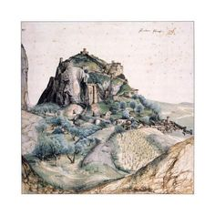 View of Arco, 1495 Giclee Print by Albrecht Durer at AllPosters.com