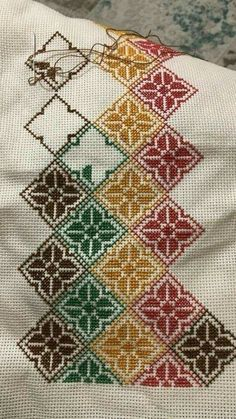 1 million+ Stunning Free Images to Use Anywhere Biscornu Cross Stitch, Cross Stitch Pillow, Cross Stitch Borders, Cross Stitch Rose, Cross Stitch Alphabet, Cross Stitch Flowers, Cross Stitch Designs, Cross Stitching, Cross Stitch Embroidery