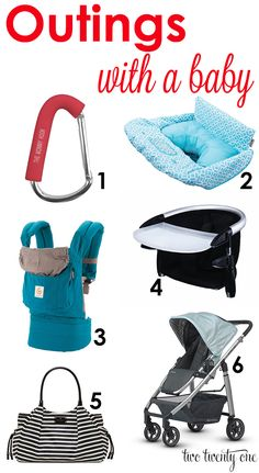 Today I thought I'd share some products and tricks weuse when we're out and about with Owen. 1. Stroller Hook When I take Owenwith meto a store, I don't like to waste precious space in the cart by throwing the diaper bag in. Plus, I like to easily access items in the diaper bag, especiallymy …