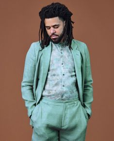 Cole Covers Latest Issue of 'GQ,' Talks Legacy in Hip-Hop & Grammy Shutout J Cole Art, Young Simba, Hip Hop World, Male Fashion Trends, Men Fashion, Fall Fashion, Fashion Shoes, Doja Cat, King Cole