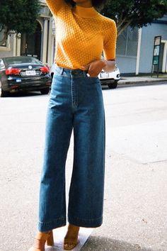 Vocês já devem ter percebido que todos os anos surge um modelo de calça que conquista o coração das fashionistas e começa aparecer como febre nos looks do street style.