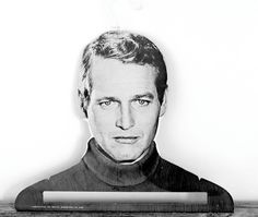 Vintage Famous Faces Paul Newman Hanger $45